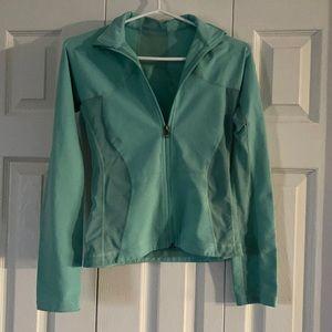 Lululemon Zip Up Mint Coloured Jacket Size 6🔥🔥